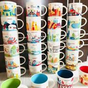2021 Starbucks American Cities You Are Here Collection Ornament Mug New 414ml