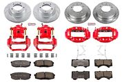Power Stop Kc2813a-36 Truck And Tow Z36 Brake Upgrade Kit Cross-drilled And Slot