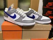 Nike Dunk Low 2003 White/sport Royal 304714 144 Size Us 8.5 Dead Stock