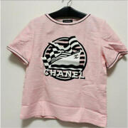 Authentic Pink White Line T-shirt Free Shipping No.206