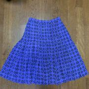Authentic Full-face Coco Mark Skirt Purple Clover Free Shipping No.1091