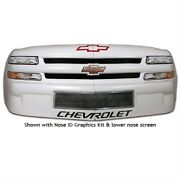 Five Star Race Car Bodies T230-410-b Short Track Truck Molded Plastic Nose Chevr