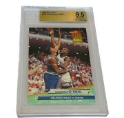Shaquille Oneal Shaq Rookie Rc Lakers Non Auto Bgs 9.5 Fleer Ultra 328 Kobe Gem