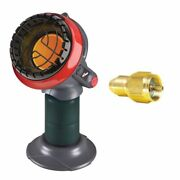 Mr. Heater F215100 Portable Little Buddy Propane Heater With Tank Refill Adapter