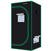 Maxsisun 2x2 Grow Tent 600d Mylar Hydroponic Indoor Plants Growing Tent With And
