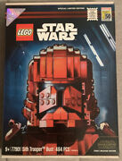 Lego 77901 Star Wars Sith Trooper Bust Sdcc 2019 Exclusive 1288/3000