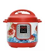 The Pioneer Woman Instant Pot Duo60 7-in-1 Frontier Rose 6-quart Programable