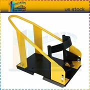 Motorcycle Wheel Chock Adjustable Stand Transport Tire Mount Trailer Front
