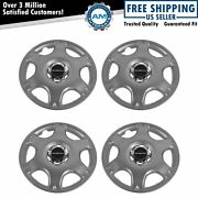 Oem Wheel Center Hub Cap Front And Rear Lh Rh Set Of 4 For Subaru Impreza Outback