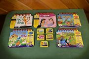 Leap Frog My First Leap Pad Lot Of 5 Books And Game Cartridges Suess Disney Thomas