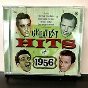 Hard To Find Greatest Hits Of 1956 2 Cd Various , Gvc 1956 Uk , 2010