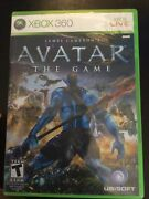 James Cameron's Avatar The Game Microsoft Xbox 360, 2009 Complete