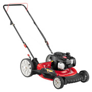Push Lawn Mower 21 In. 140cc 500e Series Briggs And Stratton Engine 2-in-1 Gas