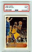1996 Topps 138 Kobe Bryant Rookie Rc Psa 9 Mint - Iconic Card Hof On May 15th