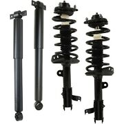Shock Absorber And Strut Assemblies Set Of 4 Front And Rear Left-and-right Lh Rh