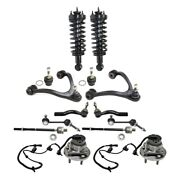Set Of 14 Control Arm Ball Joint Suspension Kit Front Left-and-right Sedan