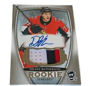 Drake Batherson Auto Jersey Patch Rookie Rc 2018-19 The Cup /249 Senators Logo