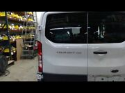 Driver Back Door White Low Roof With Window White Fits 15-17 Transit 150 693335