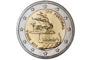 Portugal 2015 2andeuro Coin 500th Anniversary Of The 1st Contact With Timor Unc