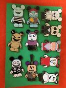 Disney Pin Nightmare Before Christmas Vinylmation Complete Set - All 11 Pins