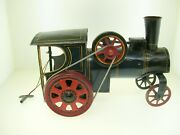 Antique Steam Engine Litho Wind-up Toy 7 Long German Nice Condition