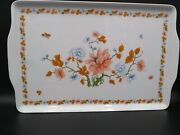 Vintage Porcelain Serving Tray By Ancap Made In Italy For Ethan Allen 48864