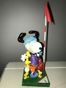 Peanuts On Parade Snoopy Jolly Golfer 8396 New In Box Peanuts Westland Giftware