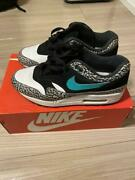 Nike Air Max 1 Elephant Atmos Cement Co.jp 908366 001 Size Us 9 With Box