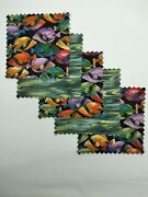32 5 Quilting Fabric Squares Quilting Charm Pack Pre Cut Tropical Jewels Fish