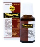 Madaus Germany Diacard Gold Drops 25 Ml Homeopathic Pack Of 2free Shipping