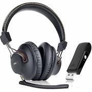 Wireless Headphones Set Bluetooth Headset With Mic For Pc Ps4,ps5,mac 40hrs Play