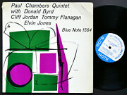 Paul Chambers Quintet Lp Blue Note 1564 Us 1957 Ear Mono 47 W.63rd Donald Byrd