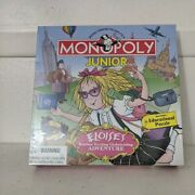 Monopoly Junior Eloise Adventure Board Game 2001 Brand New Factory Sealed