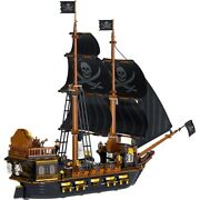 Pirates Of The Caribbean Ship Set Building Block Lego Toys Black Pearl Kids Toy