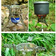 Foldable Portable Outdoor Gas Stove Camping Equipment Cooking Bbq Camping Hiking