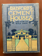 Radfordand039s Cement Houses And How To Build Them 1909 Antique Architecture Books