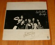 Alice Cooper Band Lp Signed X 2 Love It To Death Shock Glam White Bars Cover