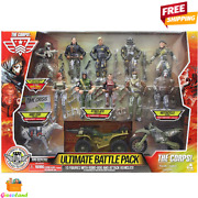 The Corps Special Forces Action Figures And Vehicle Deluxe Plastic Playset Ages 3+