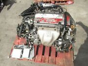 1997-2001 Honda Prelude H22a Obd2 Dohc Vtec Engine Only Tranny Not Included