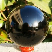 10kg Natural Black Obsidian Sphere Crystal Ball Healing Stone Collectibles