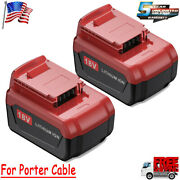 For Porter Cable Lithium-ion/nimh Battery 18v Pc18b Pc18bl Pc18blx Cordless Tool