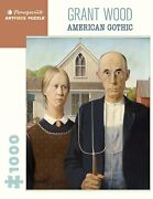 Grant Wood American Gothic 1000 Piece Jigsaw Puzzle
