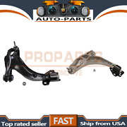 Moog Pair Front Lower Control Arm And Ball Joint For 2006 Ford Crown Victoria_pr