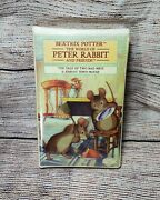 +tale Of Two Bad Mice Beatrix Potter 100 Year Collectors Edition Vhs New+