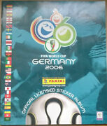 Panini World Cup 2006 Complete Sticker Album German Edt Includes Messi And Ronaldo