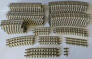 Huge Lot Of Vintage K-line O Gauge 3-rail White Ties Track - Straight And Curved