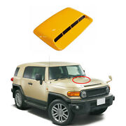 For Toyota Fj Cruiser 2007-2014 Yellow Car Machine Cover Air Outlet Frame Cover