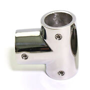 Boat Hand Rail Fittings 90 Degree Tee For 7/8 Tubing - Marine Stainless Steel
