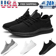 Men's Athletic Outdoor Running Shoes Sports Jogging Tennis Casual Sneakers Gym