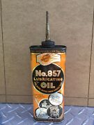 Vintage Radiant No.857 Lubricating Handy Oiler Oil Can